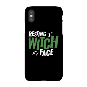Resting Witch Face Phone Case for iPhone and Android