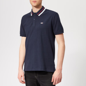 Tommy Jeans Men's Classic Stretch Polo Shirt - Black Iris
