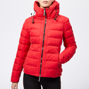 Superdry Women's SDX Hooded Jacket - Red