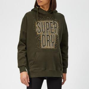 Superdry Women's Andi Hoodie - Military Khaki