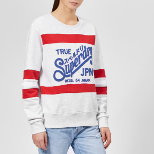 Superdry Women's True Superdry Entry Crew Neck Sweatshirt - Ice Marl