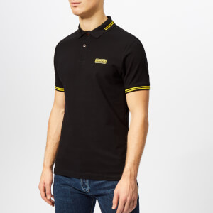 Barbour International Men's Essential Tipped Polo Shirt - Black