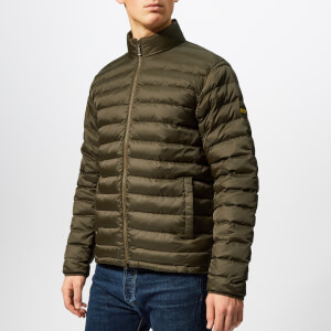 Barbour International Men's Impeller Quilted Jacket - Dark Olive