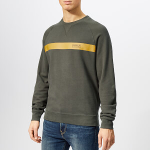 Barbour International Men's Keswick Sweatshirt - Sports Olive