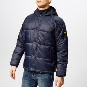 Barbour International Men's Busa Down Jacket - Navy