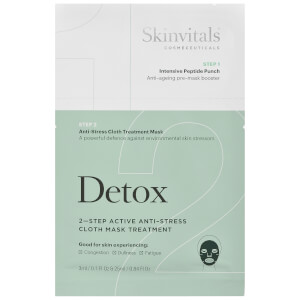 Skinvitals 2 Step Face Mask - Detox