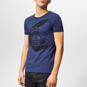 Vivienne Westwood Anglomania Men's Classic T-Shirt - Navy