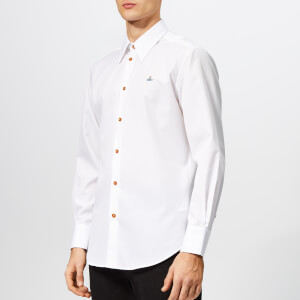 Vivienne Westwood Men's Classic Firm Poplin Shirt - White