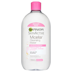 Garnier Micellar Water Facial Cleanser and Makeup Remover for?Sensitive Skin 700ml