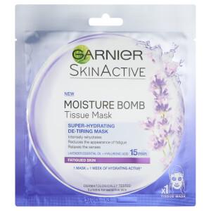 Masque Tissu Visage Hydratant Lavande Moisture Bomb Garnier