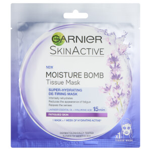 Garnier Moisture Bomb Lavender Hydrating Face Sheet Mask