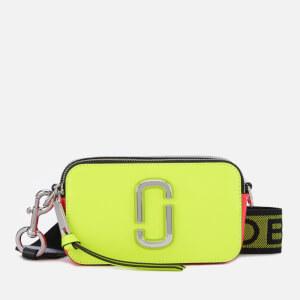 Marc Jacobs Women's Snapshot Fluoro Cross Body Bag - Bright Yellow Multi