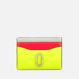 Marc Jacobs Women's Snapshot Card Case - Bright Yellow Multi