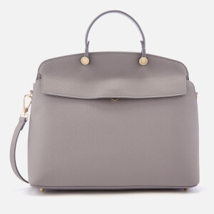 Furla Women's My Piper Medium Top Handle Bag - Grey