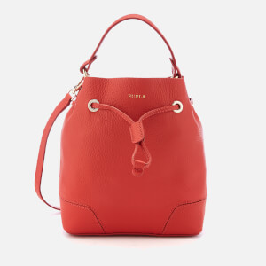 Furla Women's Stacy Small Drawstring Bag - Red