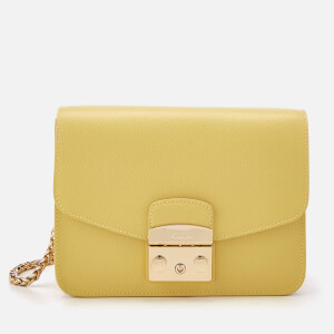 Furla Women's Metropolis Small Cross Body Bag - Yellow