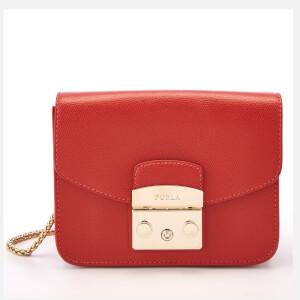 Furla Women's Metropolis Mini Cross Body Bag - Orange