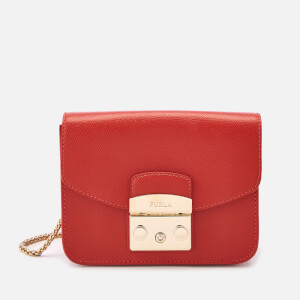 Furla Women's Metropolis Mini Cross Body Bag - Orange