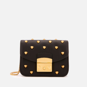 Furla Women's Metropolis Amoris Mini Cross Body Bag - Black