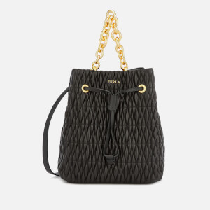 Furla Women's Stacy Cometa Small Drawstring - Black