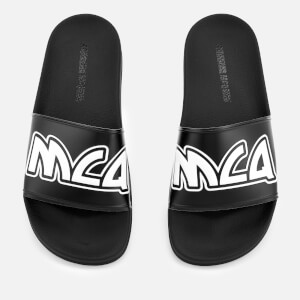 McQ Alexander McQueen Women's Chrissie Slide Sandals - Black/White