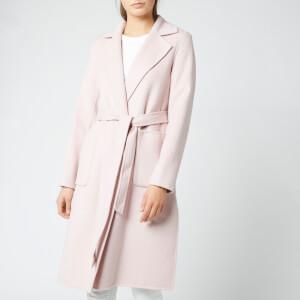 MICHAEL MICHAEL KORS Women's Wool Belted Coat - Blush