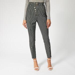 Alexander Wang Women's High Waisted Trousers - Black