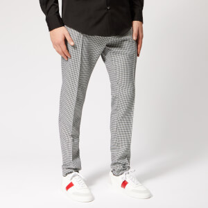 Dsquared2 Men's Cigarette Fit Houndstooth Trousers - Black