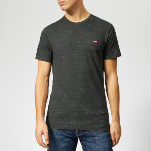 Levi's Men's Original T-Shirt - Patch Obsidian Heather