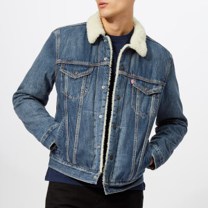 Levi's Men's Type 3 Sherpa Trucker Jacket - Mayze Sherpa