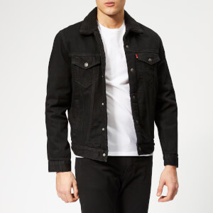 Levi's Men's Type 3 Sherpa Trucker Jacket - Berk Sherpa