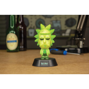 Rick and Morty Toxic Rick Icon Light