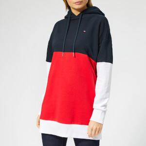 Tommy Hilfiger Women's Talina Hoodie - Midnight/Red/White