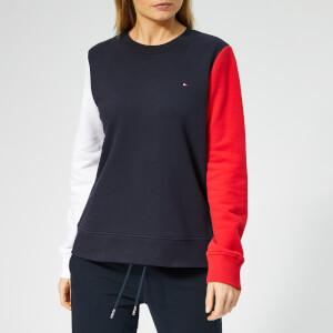 Tommy Hilfiger Women's Claire Sweatshirt - Midnight/Red/White
