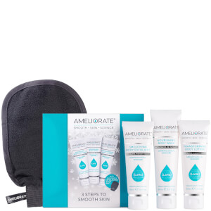 AMELIORATE 3 Steps to Smooth Skin Christmas Limited Edition (Worth £32.50)