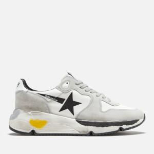 Golden Goose Deluxe Brand Men's Runner Style Trainers - White/Black Star