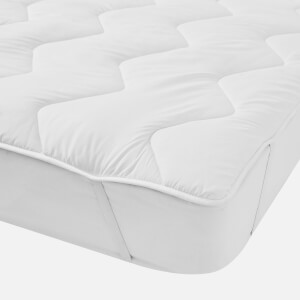 in homeware Microfibre Mattress Topper - White