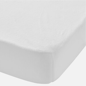 in homeware Waterproof Terry Baby Mattress Protector - White