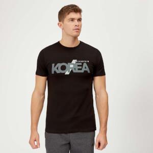 한정판 코리아 티셔츠 -블랙