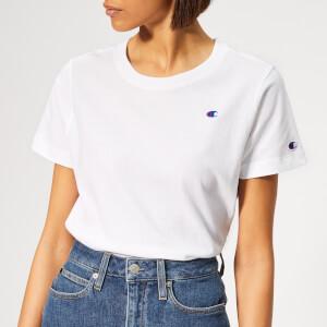 Champion Women's Crew Neck T-Shirt - White
