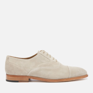 PS Paul Smith Men's Tompkins Suede Derby Shoes - Grey Beige