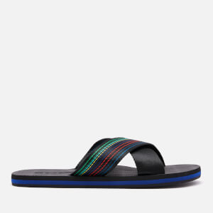 PS Paul Smith Men's Murphy Cross Front Sandals - Multi