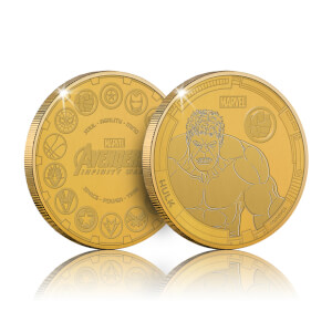Collectable Marvel Infinity War Commemorative Coin: Hulk - Zavvi Exclusive (Limited to 1000)
