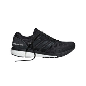 adidas Women's Adizero Adios Boston 7 Running Shoes - Black