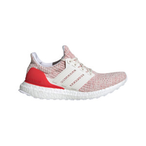 adidas Women's Ultraboost Running Shoes - Chalk White/Red