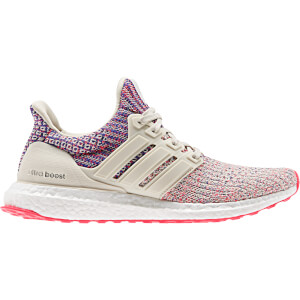 adidas Women's Ultraboost Running Shoes - Clear Brown/Shock Red