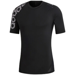 adidas Men's Alphaskin Compression T-Shirt - Black