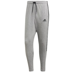 adidas Men's 3 Stripe Joggers - Grey Heather