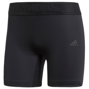 adidas Women's Alphaskin Compression Shorts - Black