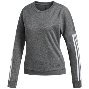 adidas Women's Response Crew Jumper - Grey Heather